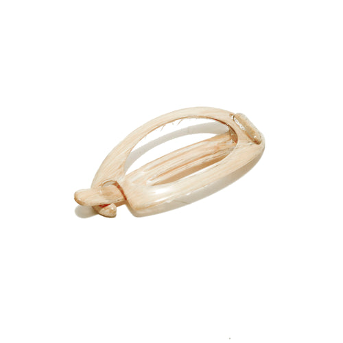 Hair Clip Oval M Bl - Parismodeshop