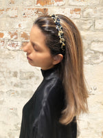 Hand Made Large Alice Hair Band Twist  - Parismodeshop