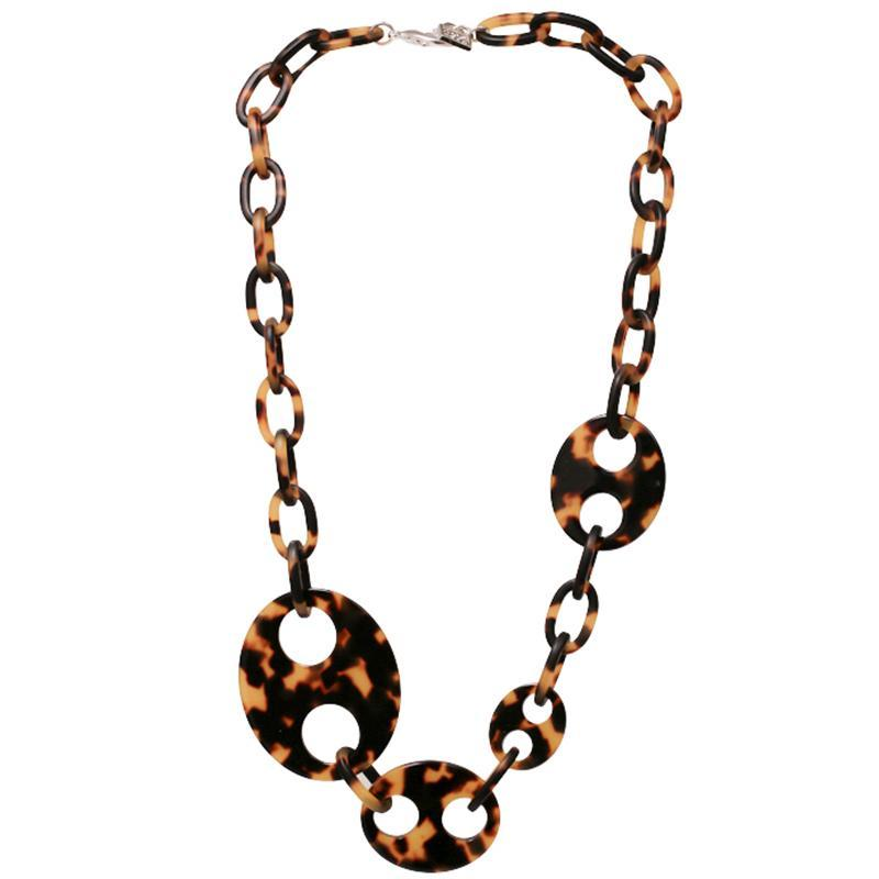 Haricot Quatre Necklace Matte