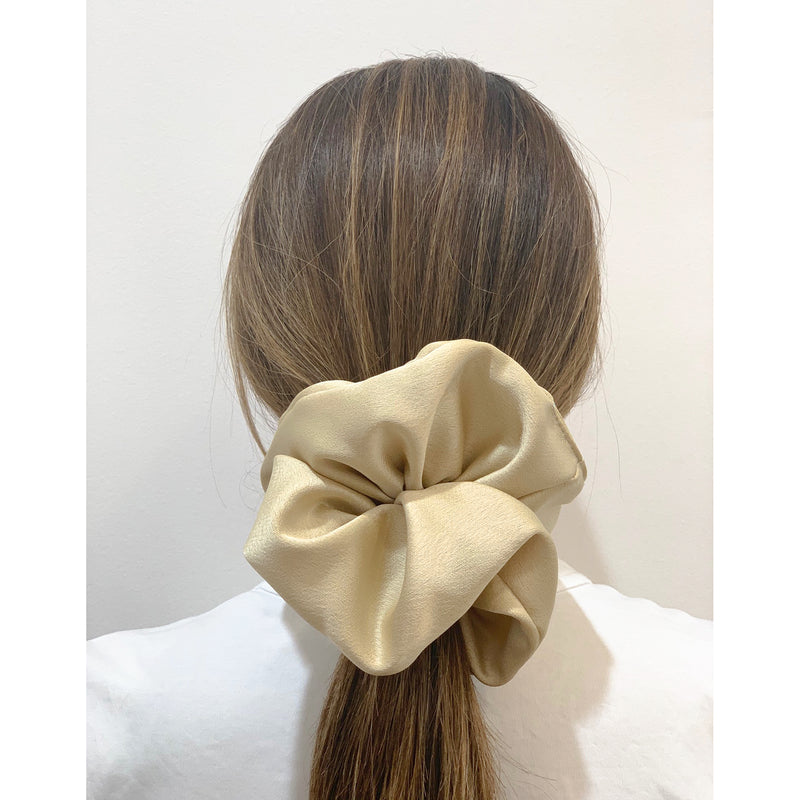 Satin Scrunchie L