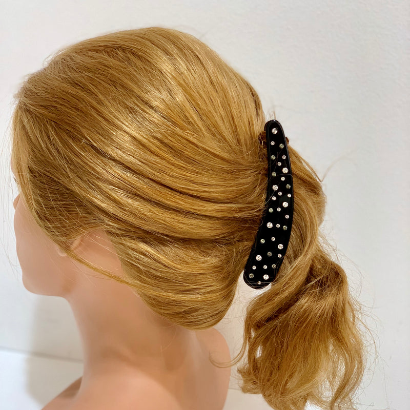 Black Banana Hair Clips Accessories Online Australia - Paris Mode
