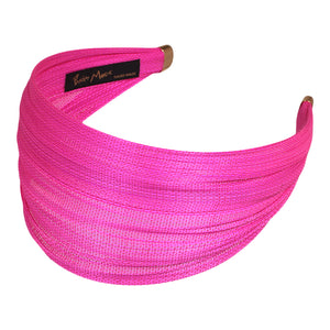 6.5 cm Pink Alice Band St. Tropez online - Paris Mode Shop NSW