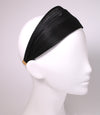 Hand Made Black St. Tropez Wrap Hair Band - Paris Mode Shop