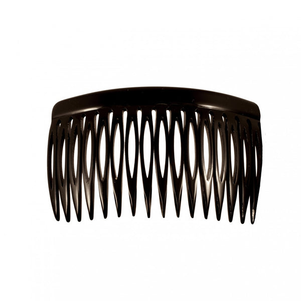 Side Comb 18 L Bk - Hand Made In France