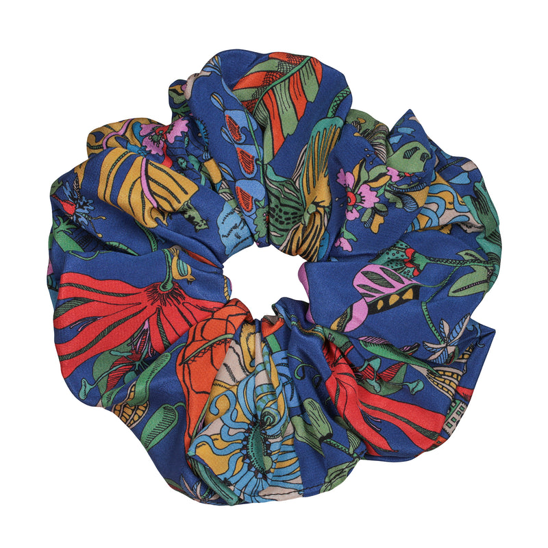 Flower Garden Scrunchie Large