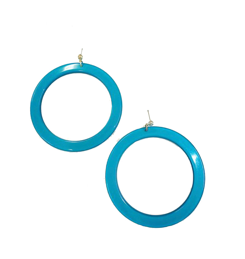 Earrings Round Large