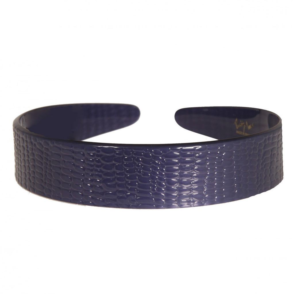 2.5 cm Serpent Blue Alice Band Medium Online - Parismodeshop