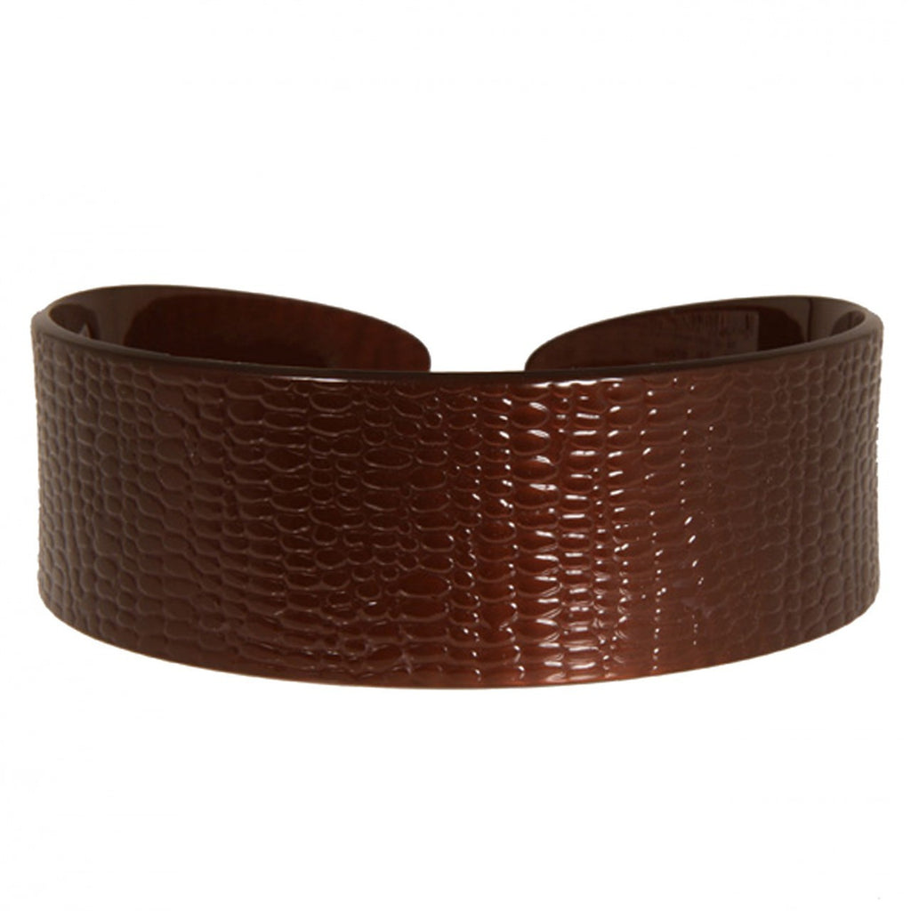 4 cm Serpent Brown Alice Band Hand Made Hair Accessories Online