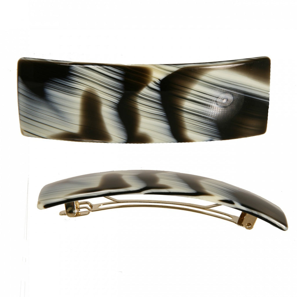 Hair Clip Rect. L Cn - Hand Made In France