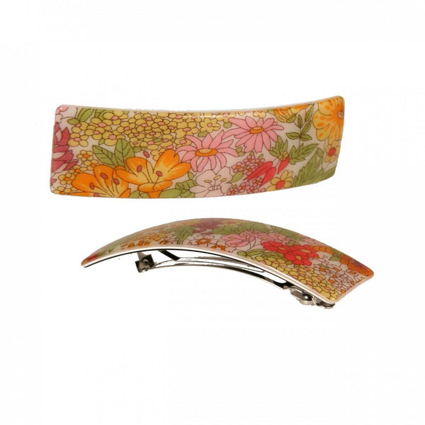 Hair Clip Rect. M Lap - Hand Made In France
