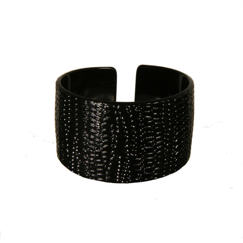 Cuff 4Cm Srpbk- Hand Made In France