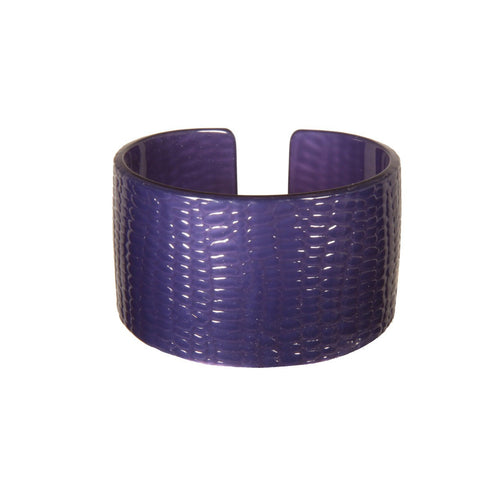 Cuff 4Cm Srpbl - Hand Made In France