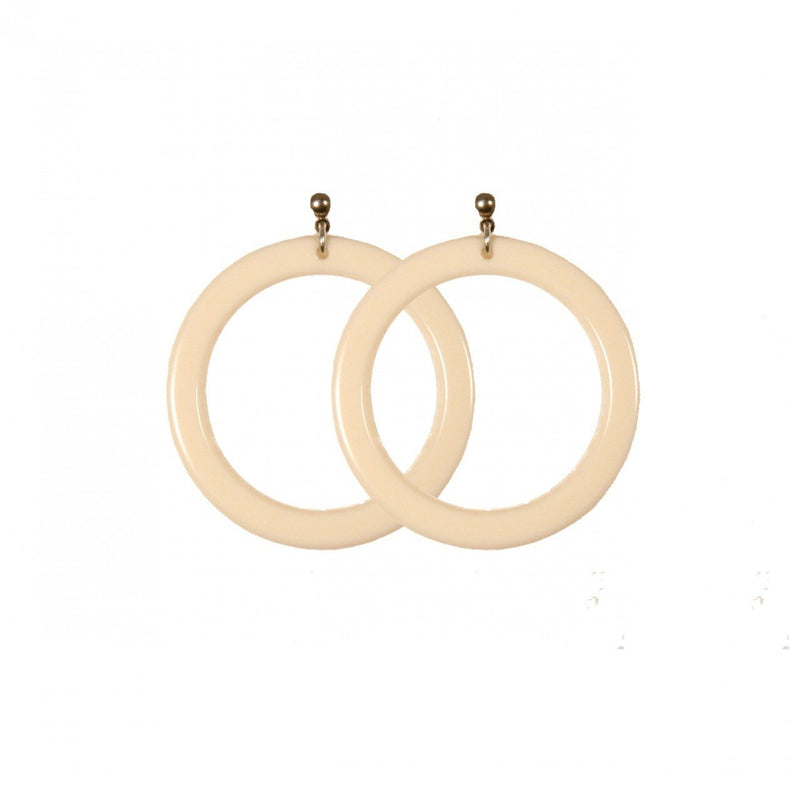 Earrings Round Medium