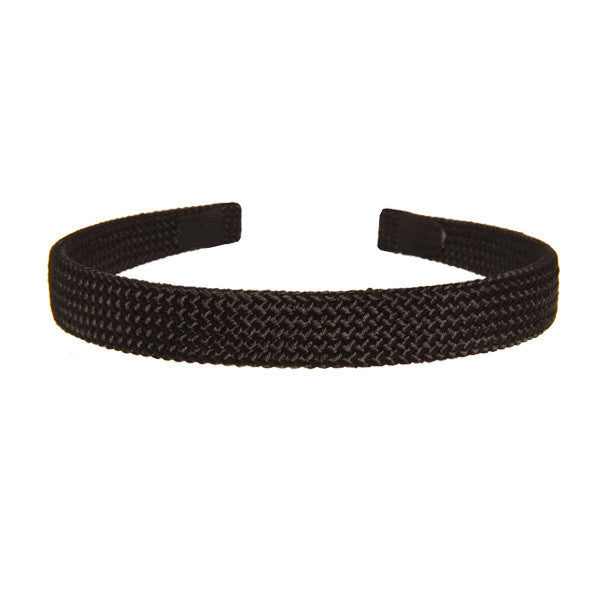 1.5 cm Black Cord Alice Band Hair Accessories - ParisModeShop NSW