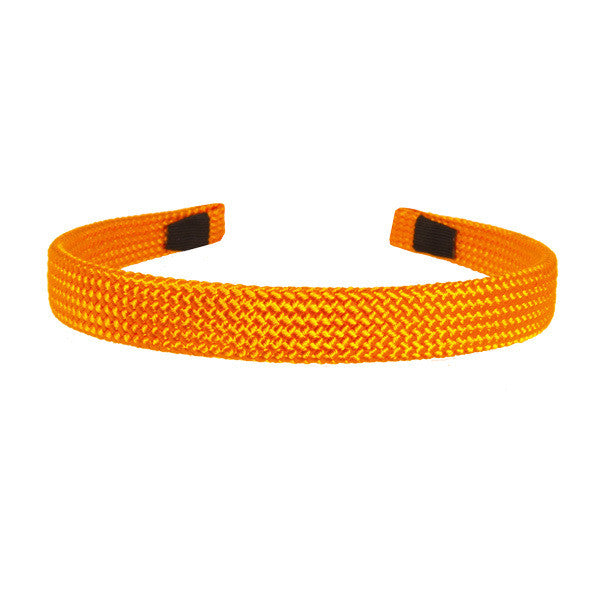 Alice Band Cord 1.5 Cm Orange - Hand Made