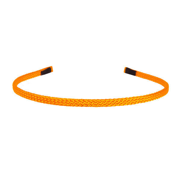 0.5 cm Orange Hand Made Alice Band Cord  AU - Paris Mode Shop