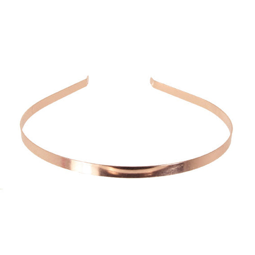 Alice Band 0.6 Metalic Pink Gold - Hand Made In France