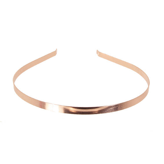 Alice Band 0.6 Metallic Rose Gold - Parismodeshop