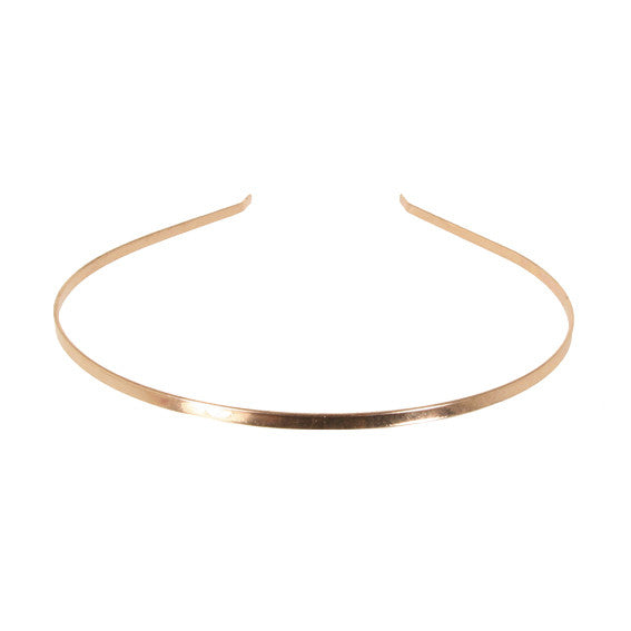 Alice Band 0.3 Metallic Rose Gold - Parismodeshop