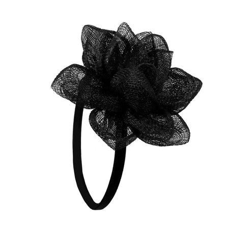 Alice Band Leather Minnie Black