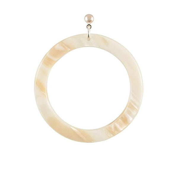 Earrings Round Large - Parismodeshop