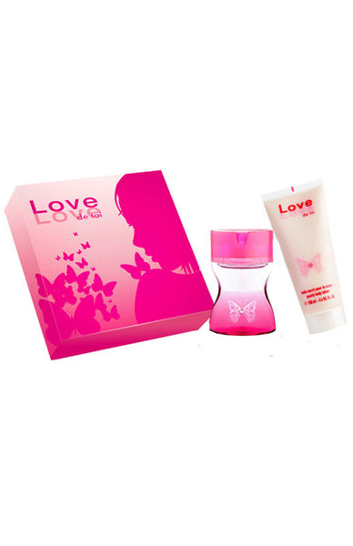 Love Love Coffret Eau De Toilette 60Ml+Body Lotion