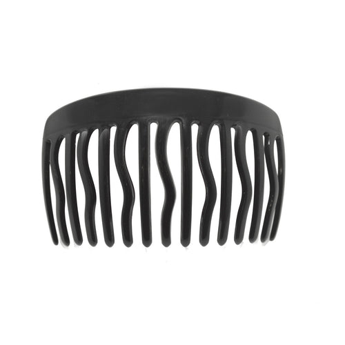 Side Comb Debi M Bk - Hand Made In France