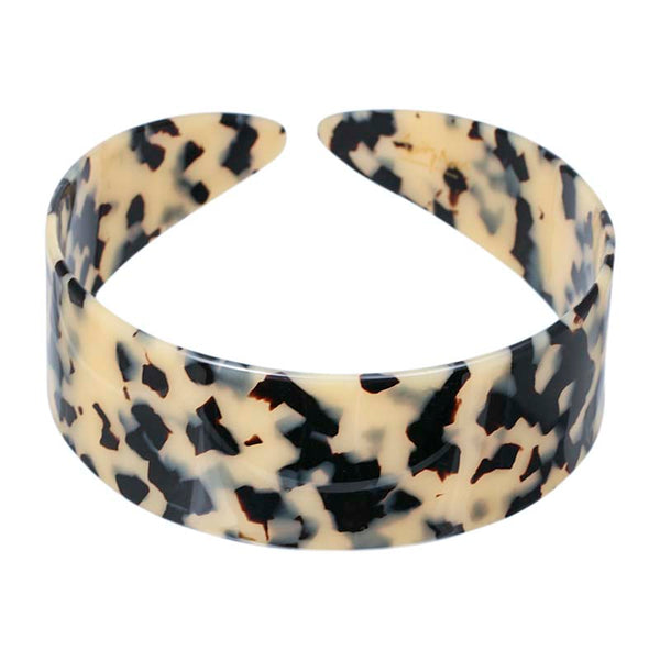 4 cm Light Tortoi Shell Hand made Alice Band - Parismodeshop AU