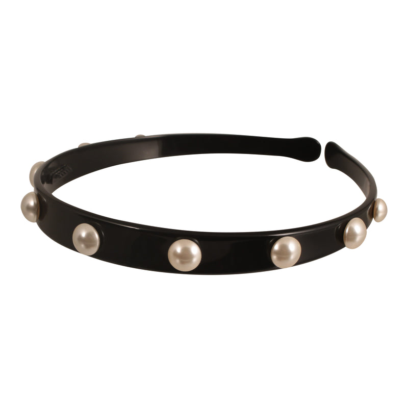 Hand made Small Alice Band with Pearls - Parismodeshop AU