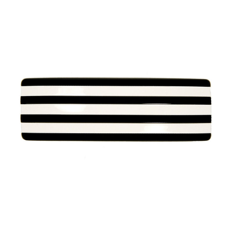 Rayure Rectangle Hair Clip Large