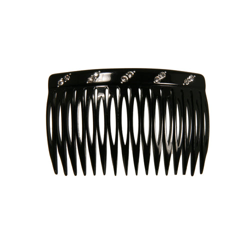 Side Comb 16 Medium Dia Black