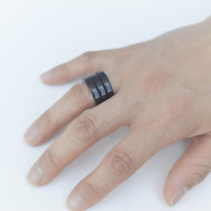 Ring Trio Bk - Hand Made In Frnace