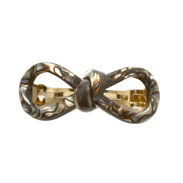 Hair Clip Bow 8 S On - Hand Made In France