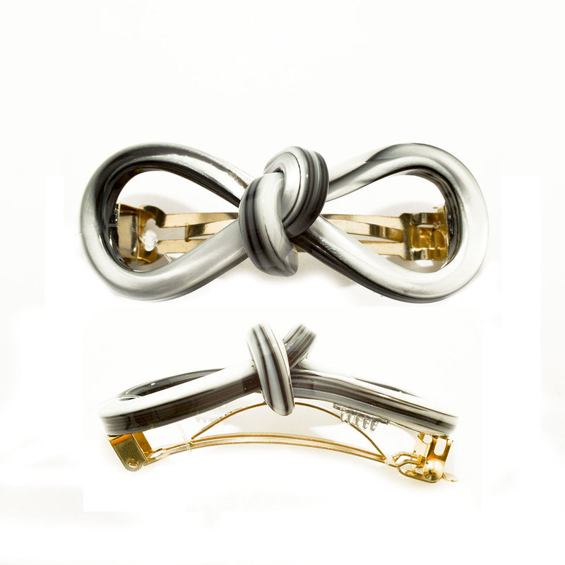 Hair Clip Bow 8 S TG - Hand Made In France