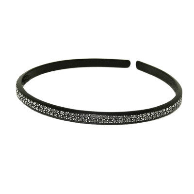 Alice Band Thin Clear Crystals - Parismodeshop