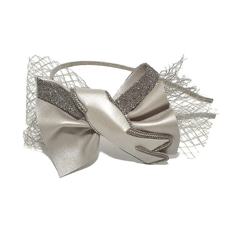 Alice Band Bow Brocade 1.5Cm Gipsy
