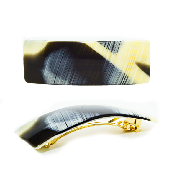 Hair Clip Rect. M Cn - Hand Made In France