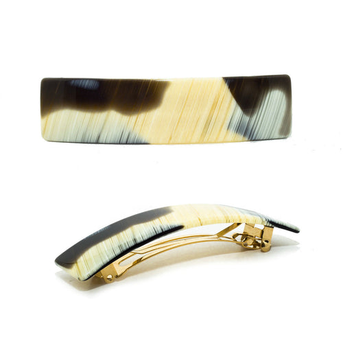 Hair Clip Rect. S Cn - Hand Made In France