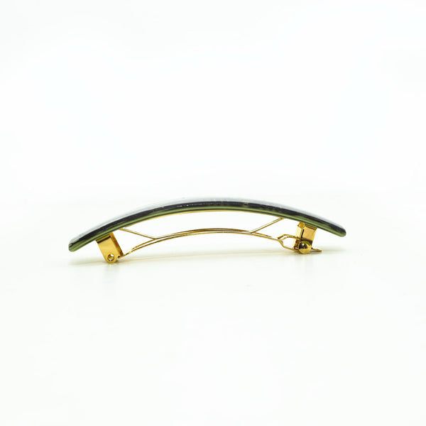 Hair Clip Oval L Dg - Hand Made In France