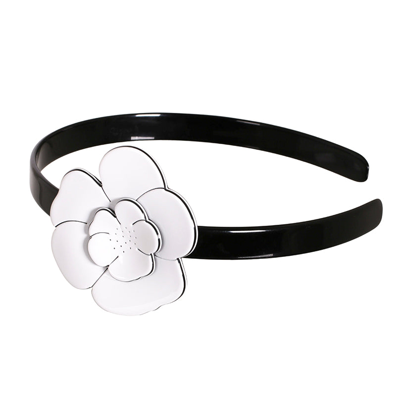 Single Camellia Headband