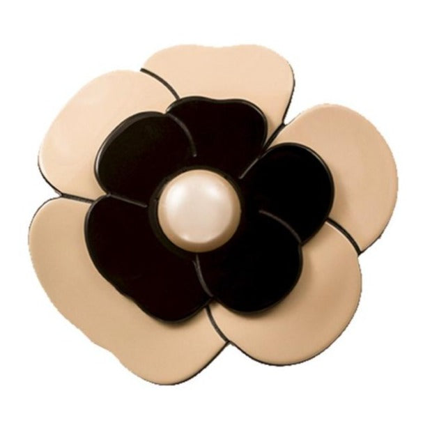 Brooch Camellia Pearl Large