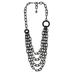 Necklace Chain 4 Rows - Parismodeshop