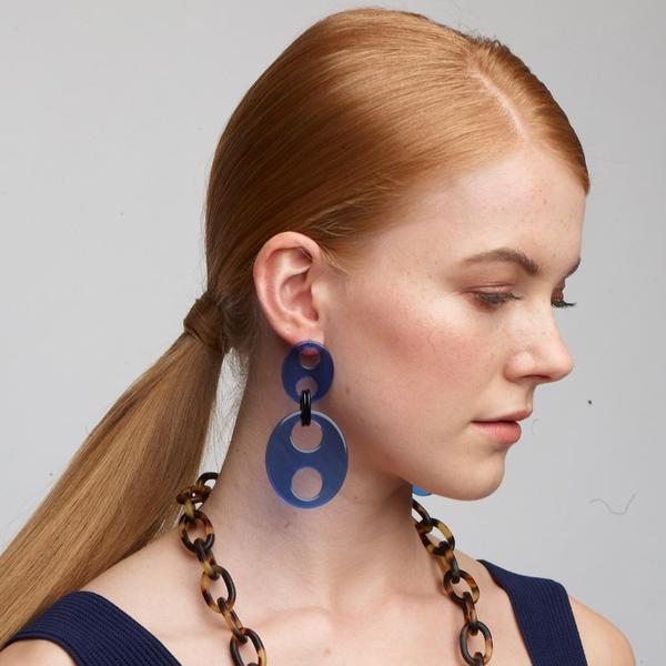 Haricot Double Medium Earrings