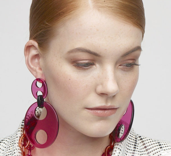 Haricot Large Earrings