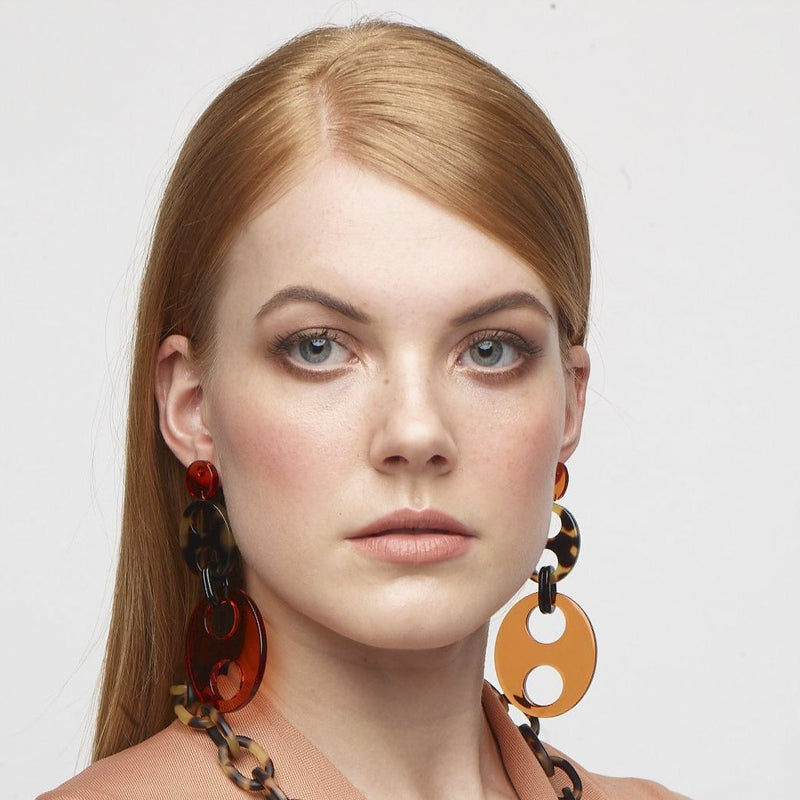 Haricot Drop Earrings