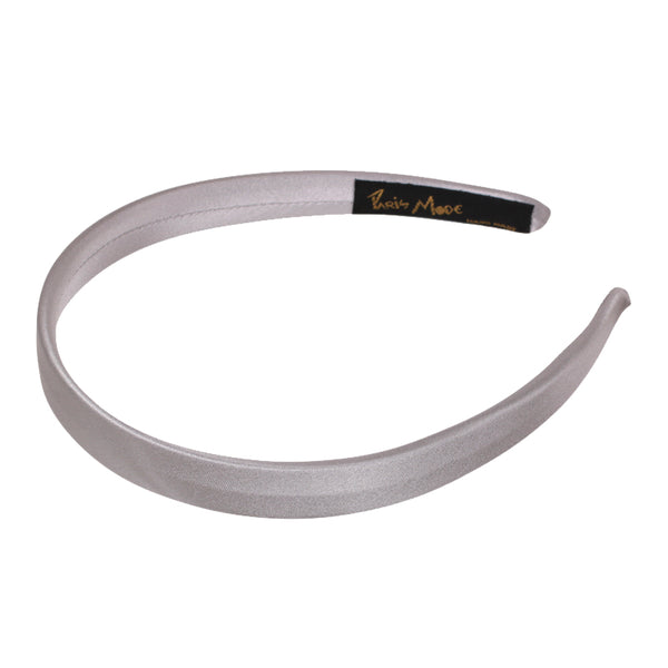 Alice Band Flat 1.5 cm Satin