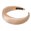 Alice Band Satin Padded 4 cm