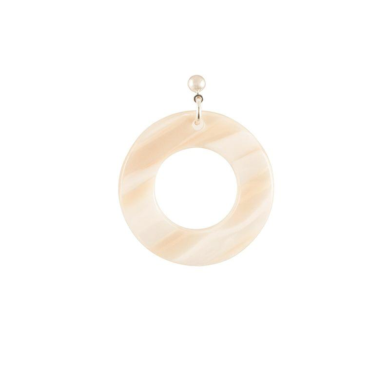 Earrings Round Small Thick - Parismodeshop