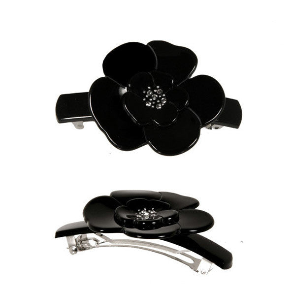 Hair Clip Camelia M Dia - Hand Made In France