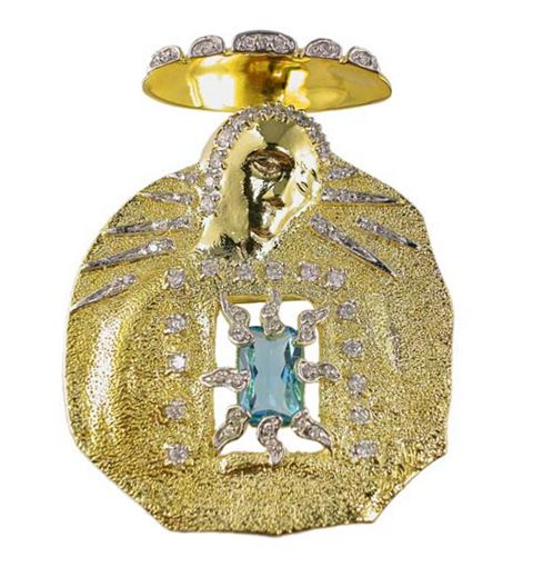 Salvador Dali Joies - Madonna Pin